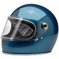 Biltwell Gringo S Helmet Gloss Pacific Blue