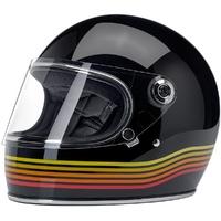 Biltwell Gringo S Helmet Gloss Black Spectrum