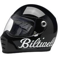 Biltwell Lane Splitter Helmet Gloss Black Factory [Size:MD]