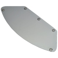 Biltwell Gringo Blast Visor Chrome Silver for LG to 2XL Helmets