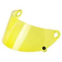 Biltwell Flat Visor Shield Yellow for Gringo S GEN2 Helmets
