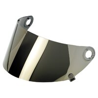 Biltwell Flat Visor Shield Gold Mirror for Gringo S GEN2 Helmets