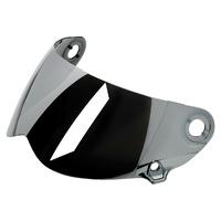 Biltwell Flat Visor Shield Chrome Mirror for Lane Splitter GEN2 Helmets