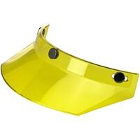 Biltwell Moto Visor Peak Yellow