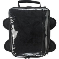 "Biltwell EXFIL-11 Tank Bag Black 11.0"" Long x 9.0"" Wide x 6.0"" Tall (Front) x 4"" Tall (Rear)"