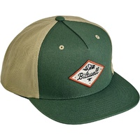Biltwell Rocky Mountain Snap Back Green/Beige