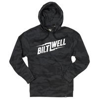 Biltwell Cracked Pullover Hoodie Black Camo