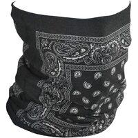 ZanHeadgear Motley Tube (Fleece) Black Paisley TF101