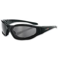 Bobster Eyewear Raptor II Sunglasses w/Anti-Fog Smoke, Amber & Clear Lenses