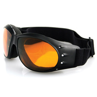 Bobster Eyewear Cruiser Goggles w/Amber Lens