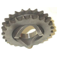 Custom Chrome 12233 Compensator 24T Sprocket Big Twin'70-86