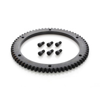 Custom Chrome 23185 Starter Ring 66T Gear Big Twin'90-97