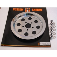 Custom Chrome 25421 Pulley Cover Big Twin'88-E94 61T