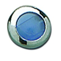Custom Chrome 26353 3 Light Dash Blue Lens