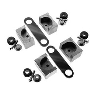 Custom Chrome 699985 Universal Steel Builder Tank Mounting Kit