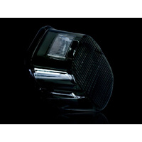 Custom Dynamics CD-GEN2LDWSB LED Low Profile Tail Light w/Smoke Lens Black Out Style