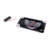 Custom Dynamics CD-TF04C N-Plate LED Amber Indicator Chrome