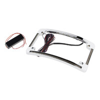 Custom Dynamics CD-TF05C Numder Plate LED Amber Indicators Chrome