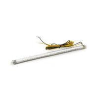 Custom Dynamics CD-TF50AC Amber LEDs Clear Tube (50 LEDS Per Strip)