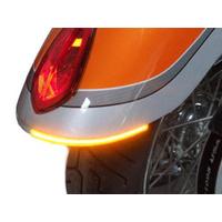 Custom Dynamics CD-VR103LS Turn Signal Victory Vegas & 8-Ball Light Smoke Lens