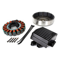 Cycle Electric CE-88T 3 Phase Alternator Kit 50amp System Softail'12up
