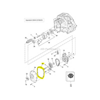 """Cometic Gasket CG-C10173 Cam Cover M8'17up (Pk5) 0.032""""AFM"""