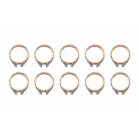 Cometic Gasket CG-C9587 Exhaust Pipe Gasket for Big Twin 66-84 (10 Pack)