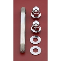 Colony Machine CM-2077-5 Chrome Fuel Tank Mount Kit Softail'00up