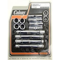 Colony Machine CM-2253-36 Pushrod Cover Adapter Kit For Use w/Adjustable Pushrods XL 04up