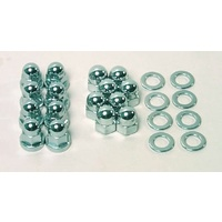 Colony Cyl Base Nuts BT'30-77 Acorn Chr fits Harley Davidson