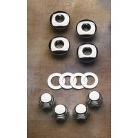Colony Machine CM-8224-8 Plugs & Nuts Rocker Shaft; Big Twin'71-84 XL'71-85