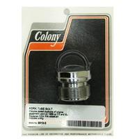 Colony Machine CM-9913-2 Fork Tube Bolt FXD XL'88up Chrome Stock 39mm Tubes. (Each)