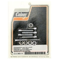 Colony Machine CM-9952-11-P Transmission Top Bolts Softail 98-06 FLT 98-06. 5 Speed trans.