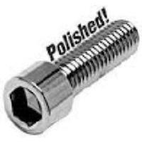"Colony Machine CM-PSHC-299 7/16-14 x 1-1/2"" UNC Polished Socket Head Allen Bolts Chrome"