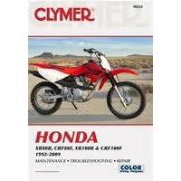 Clymer CM222 Honda XR80R/ CRF80F/ XR100R & CRF100F 1992-2009 (M222)