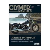 Clymer CM255 Harley-Davidson FXD/FLD Dyna Models 2012-2017 (M255)