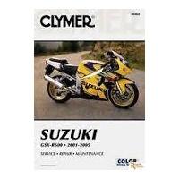 Clymer CM264 Suzuki GSX-R600 2001-2005 (M264)