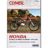 Clymer CM31214 Honda XL/XR75/ XL/XR80 & XL/XR100 1975-1991 (M31214)