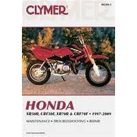 Clymer CM3193 Honda XR50R/ CRF50F/ XR(70R) & CRF70F/ 1997-2009 (M3193)