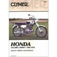 Clymer CM321 Honda 125-200CC Twins 1965-1978 (M321)