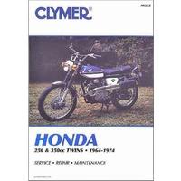 Clymer CM322 Honda 250 & 350 CC Twins 1964-1974/ CB250/ CL350/ CL250/ SL350/ CB350