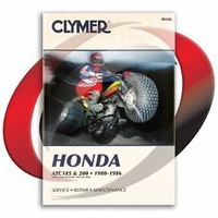 Clymer CM326 Honda ATC185 and 200/ 1980-1986 (M326)