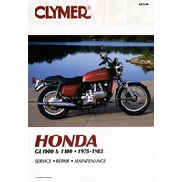 Clymer CM340 Honda GL1000 & 1100 Fours 1975-1983 (M340)