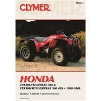 Clymer CM3463 Honda TRX300/Fourtrax 300 and TRX300FW/Fourtrax 300 4X4 1988-2000 (M3463)