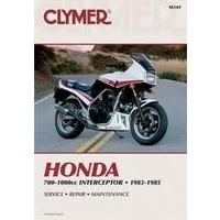 Clymer CM349 Honda VF700F/ VF750F & VF1000F Interceptor 1983-1985 (M349)