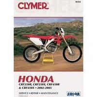 Clymer CM352 Honda CRF250R/ CRF250X/ CRF450R and CRF450X 2002-2005 (M352)