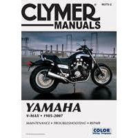 Clymer CM3752 Yamaha V-MAX VMX12 1985-2007 TOTAL