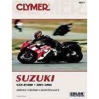 Clymer CM377 Suzuki GSX-R1000 2001-2004 (M377)