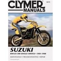 Clymer CM379 Suzuki RM125-500 Single Shock 1981-1988 (M379)