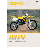 Clymer CM386 Suzuki RM80-250 1989-1995 (M386)